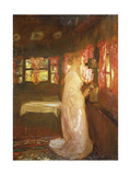 The Telephone Call Giclee Print by Gaston De Latouche