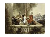Im Freien, 1852 Giclee Print by Adolph Friedrich Erdmann von Menzel