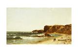 Forty Steps, Newport, Rhode Island, 1871 Giclee Print by John Frederick Kensett