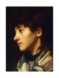 The Newlyn Girl, C.1895 Giclee Print by Edwin Harris