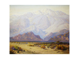 The Majestic Desert Giclee Print by Fred Grayson Sayre