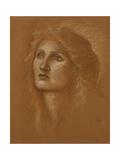 Head of a Woman, 1890 Giclee Print by Sir Edward Coley Burne-Jones