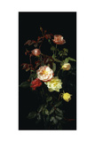 Roses, 1878 Giclee Print by George Cochran Lambdin