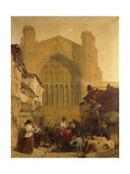Chester Cathedral, 1853 Giclee Print by Edmund John Niemann