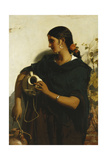 A Gypsy Water-Carrier of Seville, 1855 Giclee Print by John Phillip