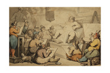 A Dutch Academy Giclee Print by Thomas Rowlandson