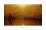 The Golden Horn Giclee Print by Sanford Robinson Gifford