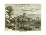 Primrose Hill in 1780 Impression giclée
