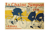The Simpson Chain; La Chaine Simpson, 1896 Giclee Print by Henri de Toulouse-Lautrec