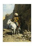 The Cossack Giclee Print by Alfred von Wierusz-Kowalski