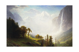 Majesty of the Mountains, 1853-57 Giclee Print by Albert Bierstadt
