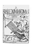 Facsimile of a Drawing by Felipe Guaman Poma from His 'El Primer Nueva Coronica Y Buen Gobierno' Giclee Print