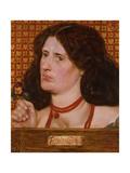 Regina Cordium - Portrait of Ellen Heaton, 1861 Giclee Print by Dante Charles Gabriel Rossetti