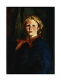 Miss Violet Organ (Katie McNamara) Giclee Print by Robert Henri