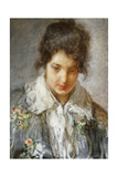 Portrait of a Lady Giclee Print by Mose Bianchi
