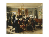 Afternoon Tea, 1889 Giclee Print by Peter Vilhelm Ilsted