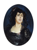 Portrait of Anne Pelterson-Norrie, 1889 Giclee Print by Peder Severin Kröyer