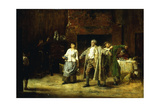 The Minute Men Giclee Print by Edwin Howland Blashfield