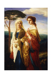 Judith and Her Attendant, 1867 Giclee Print by Simeon Solomon