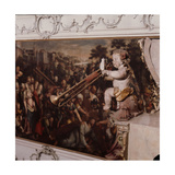 Baroque Style Painted Decoration from the Castle Church, Salzburg Giclee Print