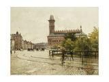 Raadhuspladsen, Copenhagen, 1893 Giclee Print by Paul Fischer
