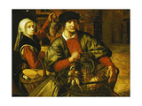 A Poultry Seller Giclee Print by Pieter Aertsen