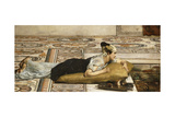 Water Pets: Goldfish, 1874 Impression giclée par Sir Lawrence Alma-Tadema