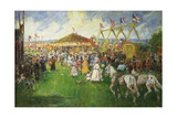 The Country Fair Giclee Print by Cecil Gordon Lawson