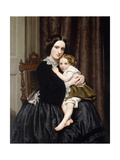 A Mother and Her Child Giclee Print by Robert Scott Tait