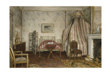 View of the Bedroom Where Napoleon III Died, Camden Place, Chislehurst, Kent, 1873 Giclee Print by George Goodwin Kilburne