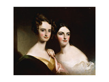 The Mc Ilvaine Sisters, 1834 Giclee Print by Thomas Sully