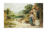Feeding Time Giclee Print by Ernest Walbourn