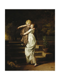 Two Sisters; Les Deux Soeurs Giclee Print by Louis Leopold Boilly