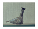 Bird-Shaped Glass Bottle Used for Perfume Storage Giclee Print