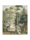 The Deputy Ranger's Lodge, Windsor Great Park Giclee Print by Paul Sandby