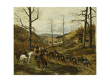 Artillery Moving Through a Valley, Rezonville Giclee Print by Paul Emile Leon Perboyre