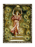 Prang Design for Christmas Giclee Print by Elihu Vedder