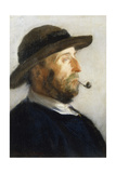 Portrait of an Artist, 1884 Giclee Print by Walter Frederick Osborne