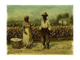 Picked Cotton Giclee Print by William Aiken Walker