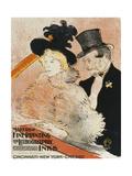 Concert; Au Concert, 1896 Giclee Print by Henri de Toulouse-Lautrec