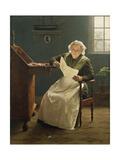 Dear Polly Giclee Print by Seymour Joseph Guy