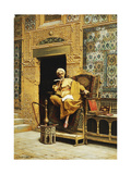 The Scribe Giclee Print by Ludwig Deutsch
