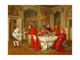 Appartements De Louis Xvi a Versailles; the Chef's Birthday Giclee Print by Andrea Landini