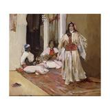 Habiba, 1892 Gicleetryck av Sir John Lavery