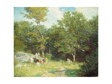 Picking Flowers Giclee Print by Edward Henry Potthast