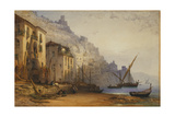 Amalfi from the Shore - a Summer's Morning, 1887 Giclee Print by William Callow