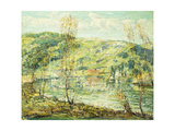 Lake Reflections Giclee Print by Ernest Lawson