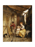 Backstage Giclee Print by Theophile Emmanuel Duverger
