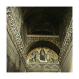 The Mosaic over the South Door of the Hagia Sophia, Istanbul Giclee Print
