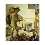 Fantasies Giclee Print by Walter Ufer